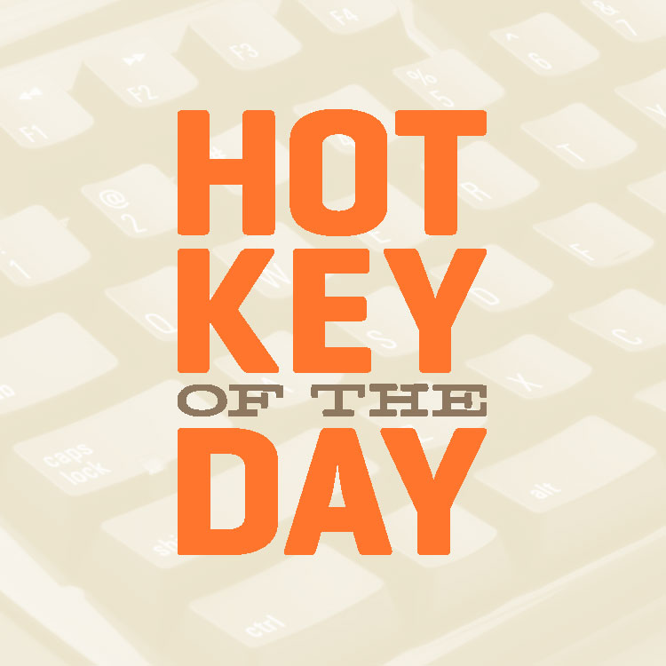 Hot Key of the Day Twitter logo