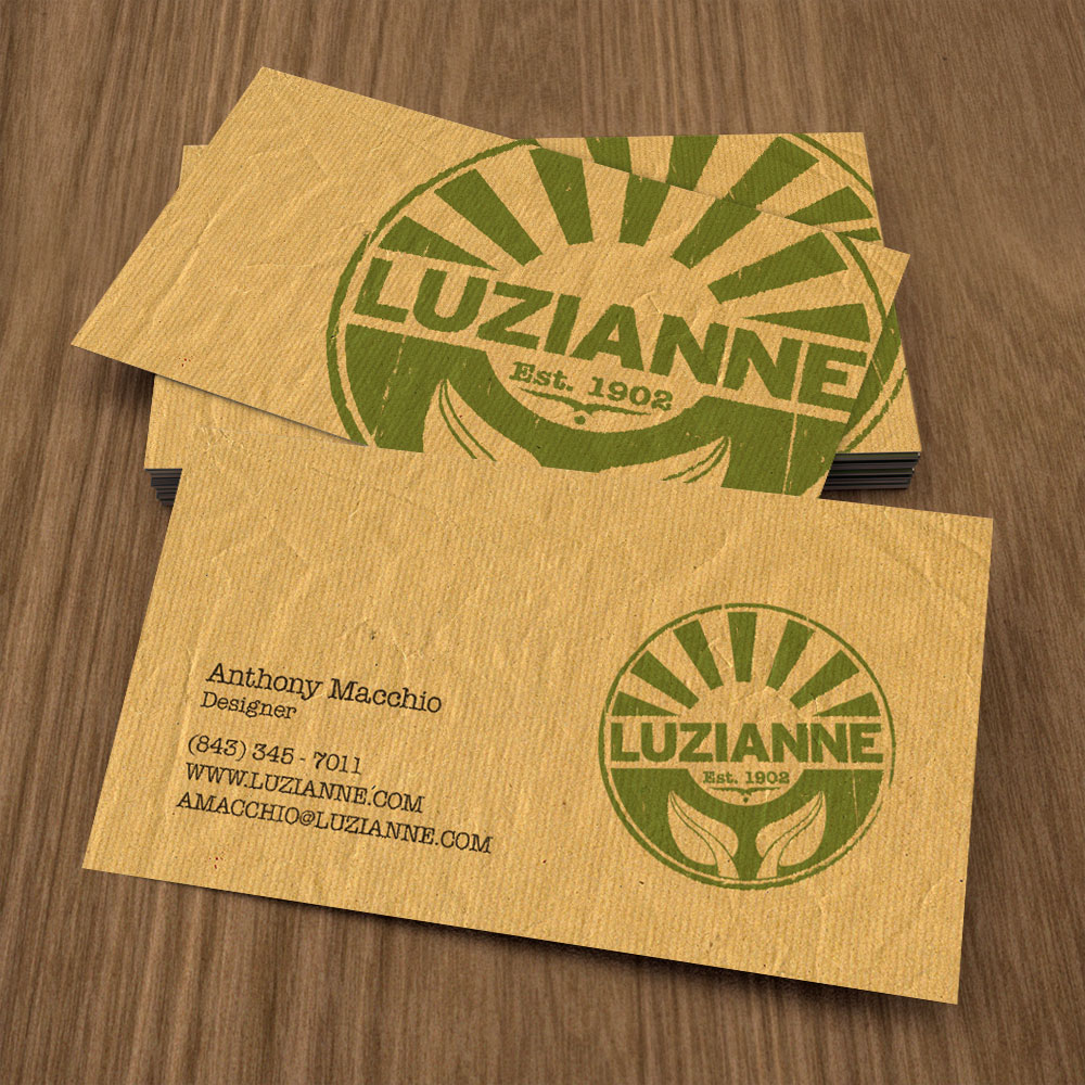 Brand business card design